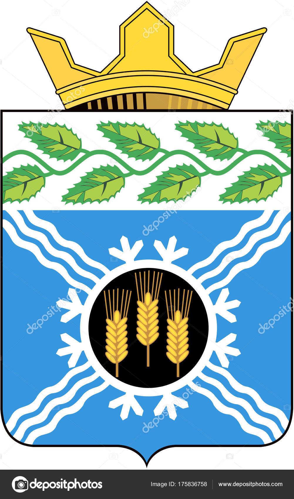 Coat of arms of the Kemerovo region: beauty and symbolism 95