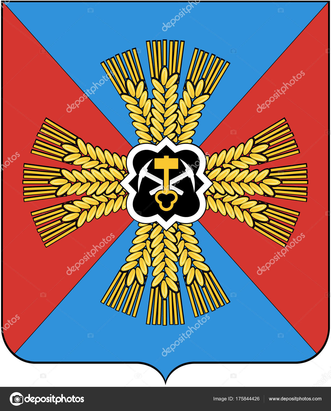 Coat of arms of the Kemerovo region: beauty and symbolism 61