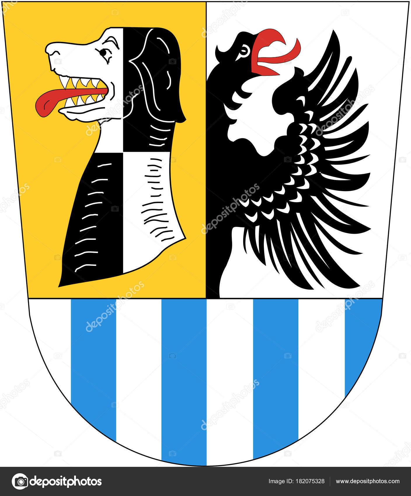 Coat Arms Neustadt Der Aisch Bad Windsheim Germany Stock