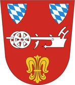 Fotografie Wappen der Stadt Straubing. Deutschland