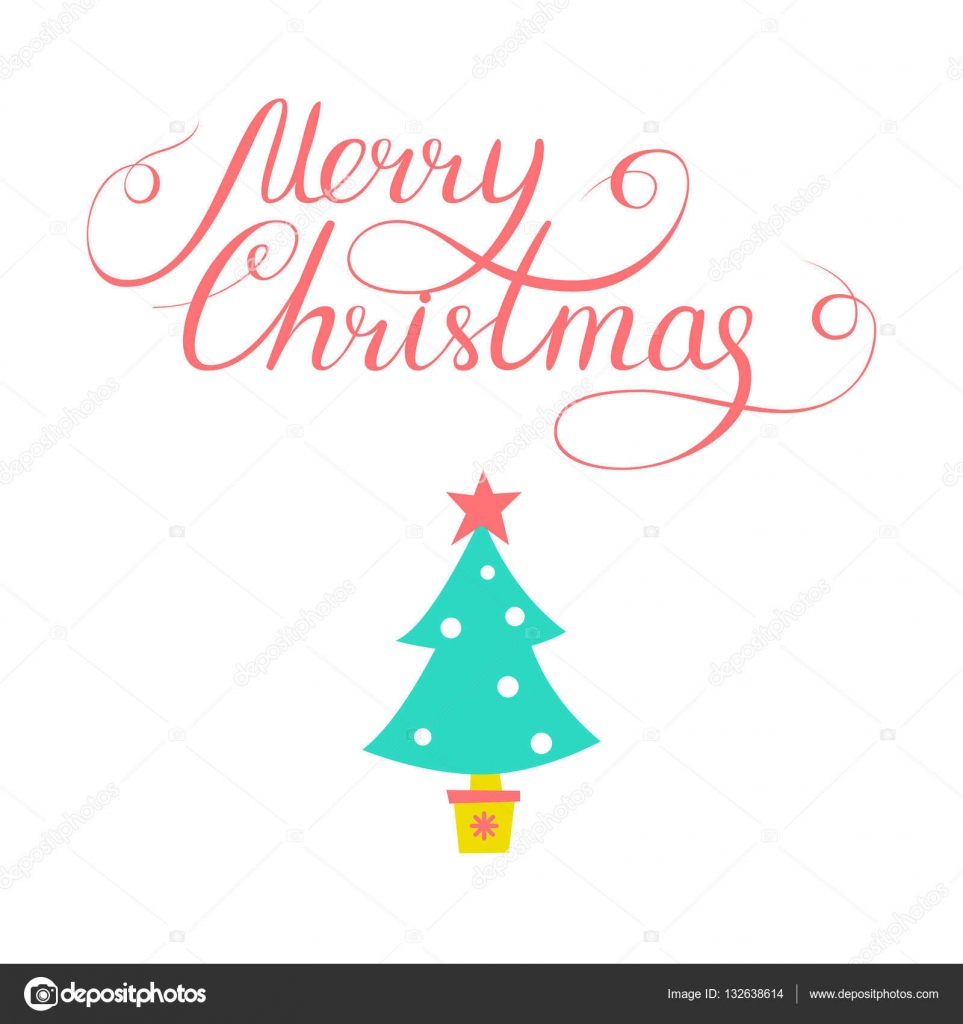 Simple Christmas Card Design With Doodle Illustration And Letter Stock Vector C Hakabachan Gmail Com 132638614