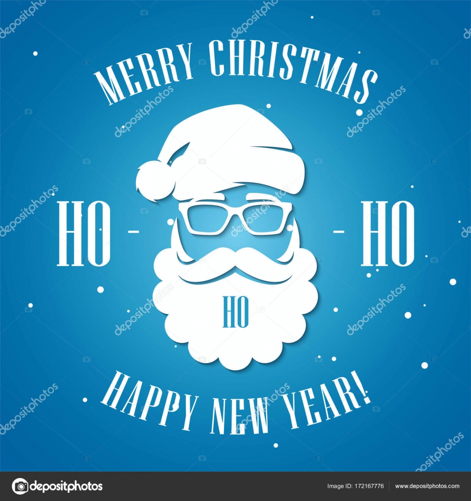 Merry christmas and happy new year greeting card with hipster st merry christmas and happy new year greeting card with hipster st stock vector kristyandbryce Image collections