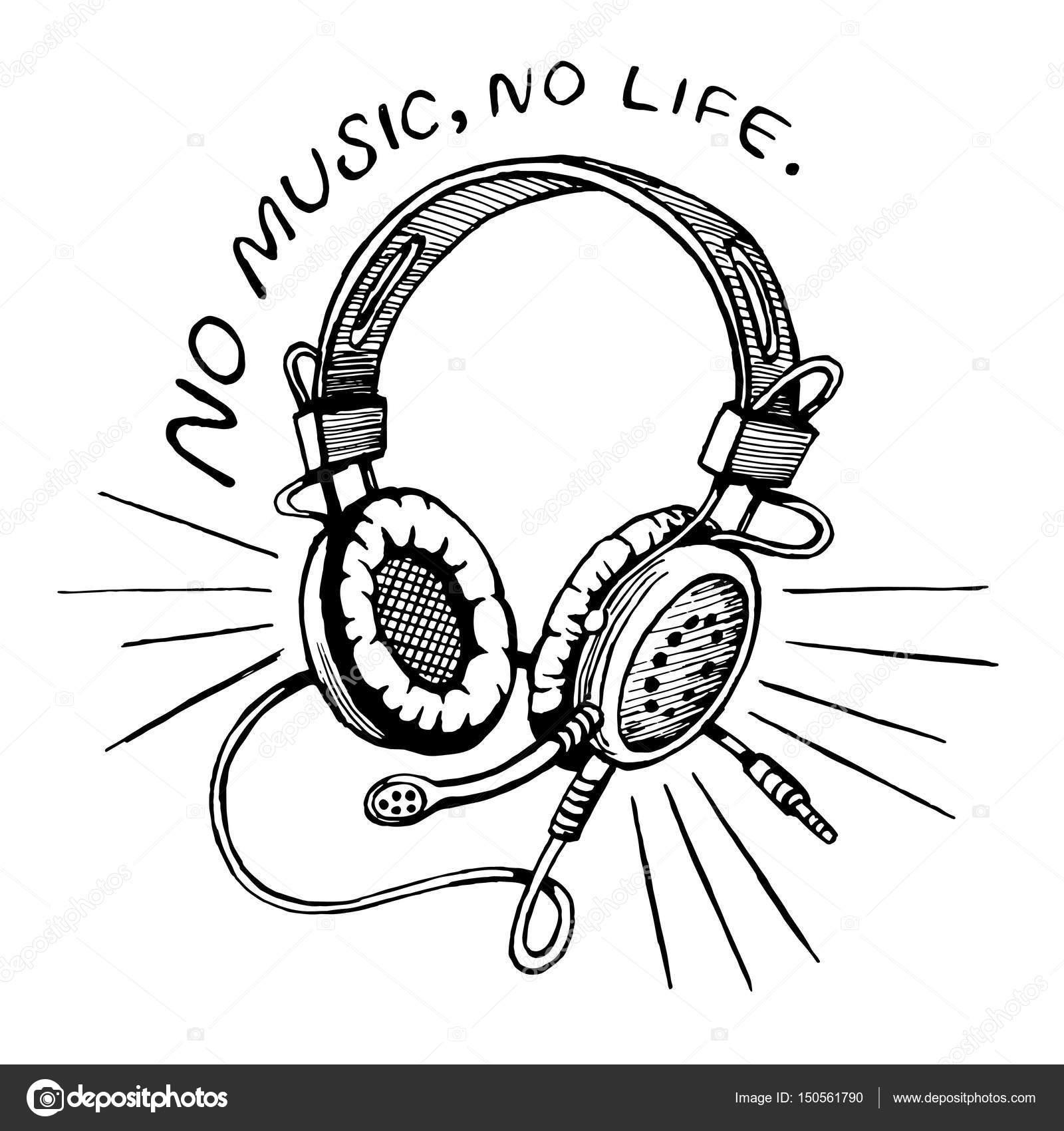 Imágenes Auriculares Para Dibujar Auriculares Con Micrófono