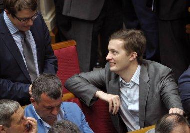 In the session hall of the Verkhovna Rada of Ukraine