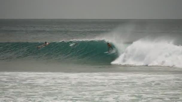 za vrchol pohledu na surfaře na Kirra v qld, aust