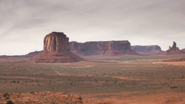 panning pohled na památkové údolí od umělců bod