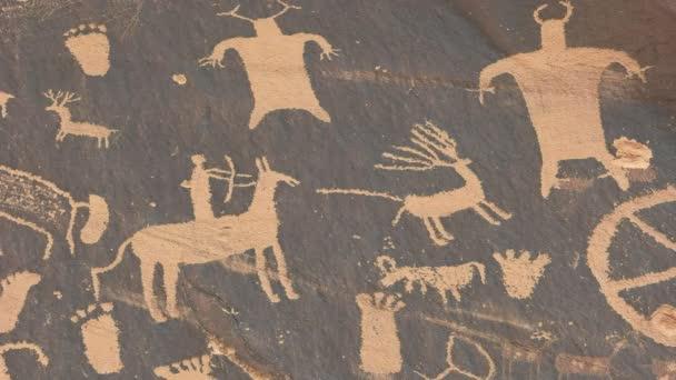 közeli vadászat jelenet újság rock Utah