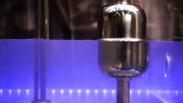 Měření hladiny vody v kotli vybavení. HD