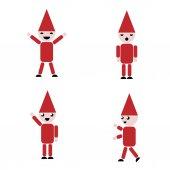 Fotografia Set di Babbo Natale, clipart
