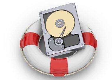 Rescue File on the Hard Disk