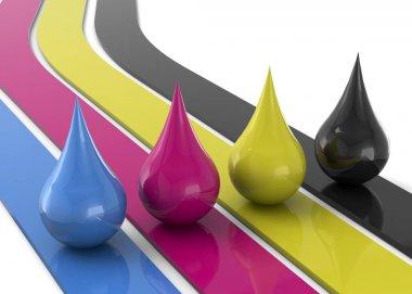 CMYK Color - 3D