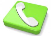 a telefon ikon - 3d