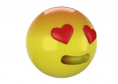 The Enamored Emoticon - 3D