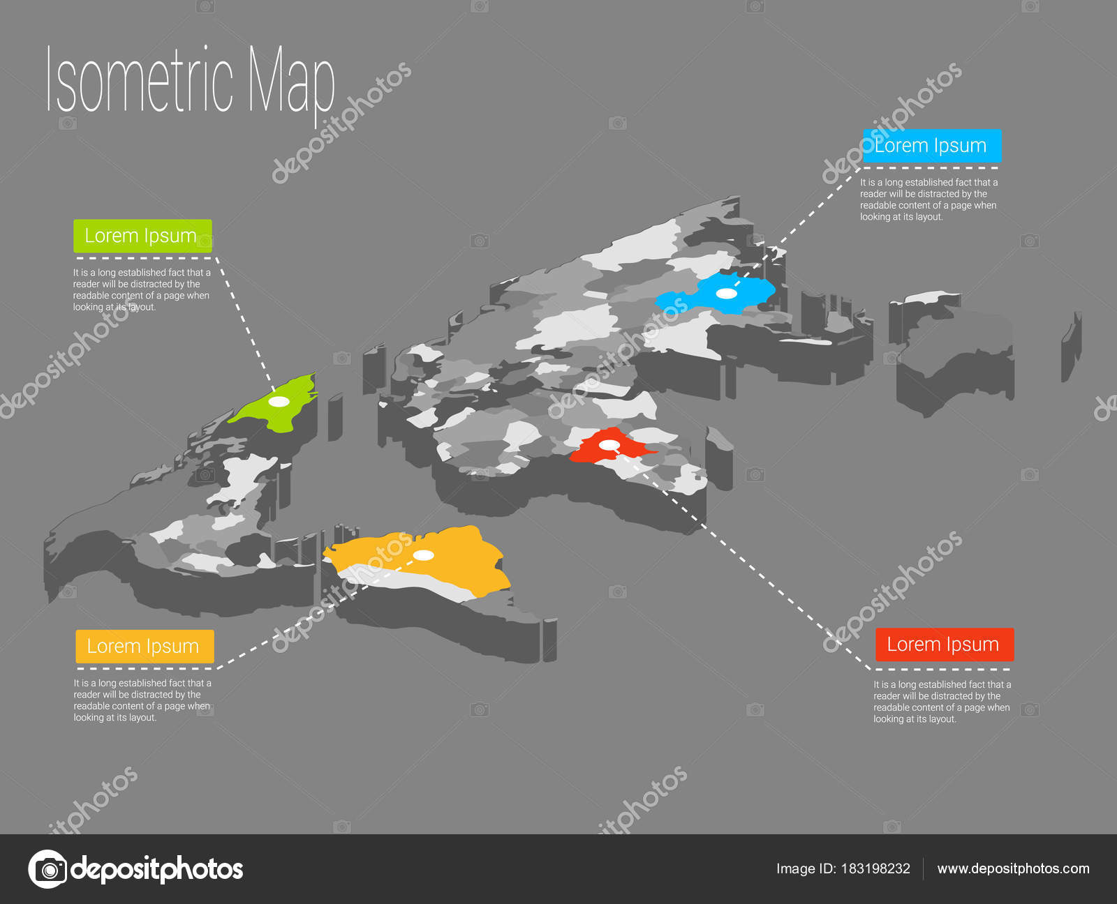 Map world isometric concept 3d flat illustration stock vector map world isometric concept political world map isometric 3d infographic eps world map infographics design template vector by ladykristyil gumiabroncs Images