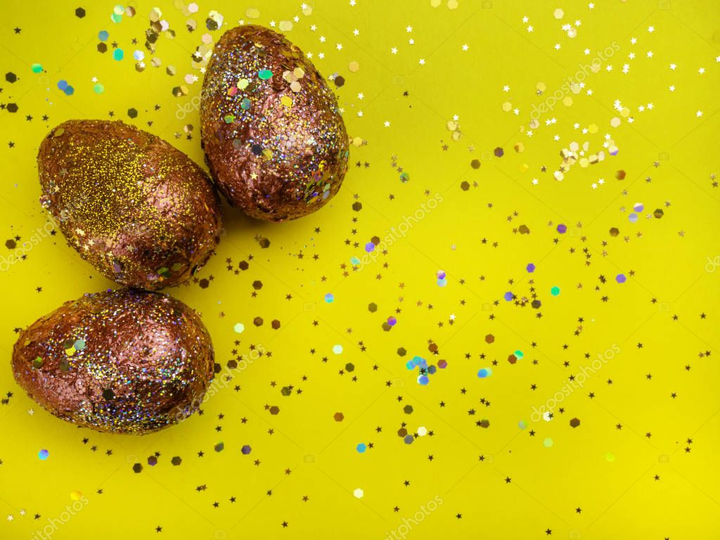 glitter easter egg wallpaper