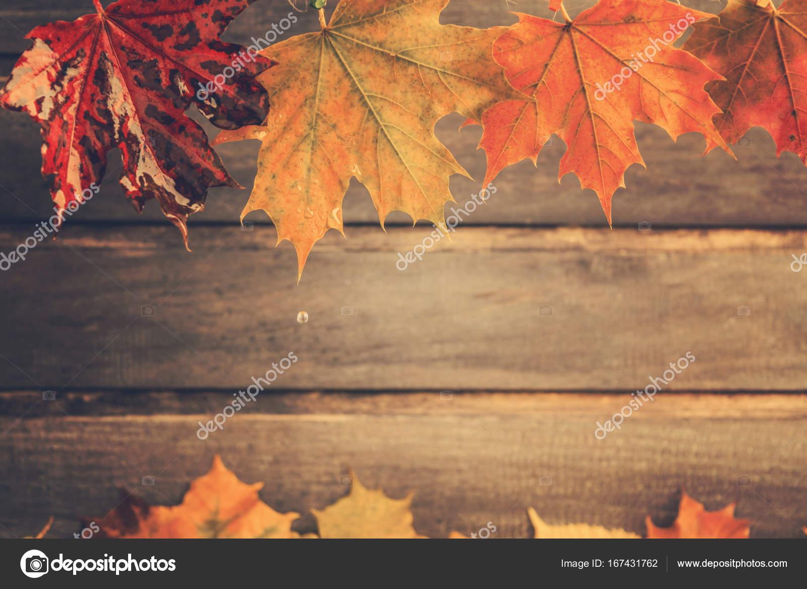 ретро осень картинки