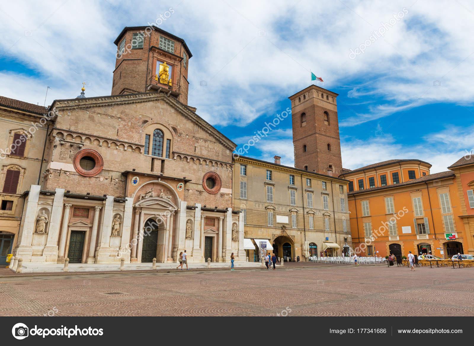 Reggio Emilia Itálie Centrální Náměstí Reggio Emilia Camillo