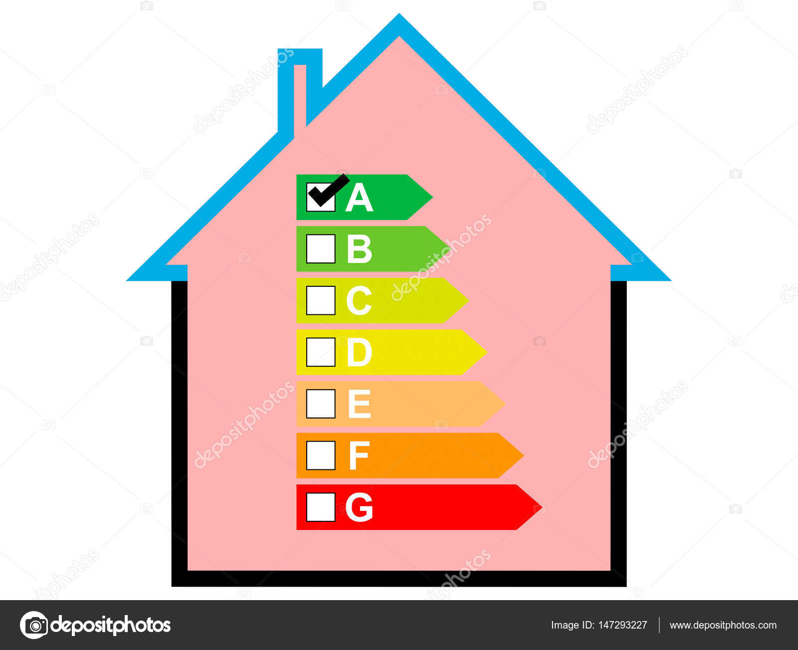Captivating House With Goog Energy Consumption U2014 Stock Photo