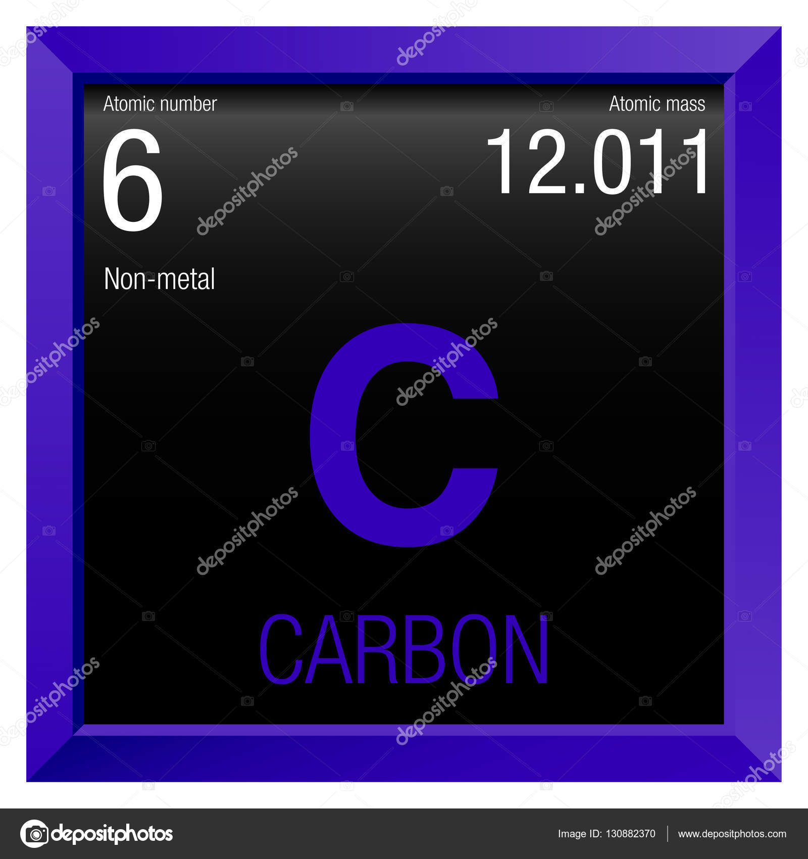 Carbon symbol element number 6 of the periodic table of the carbon symbol element number 6 of the periodic table of the elements chemistry gamestrikefo Gallery