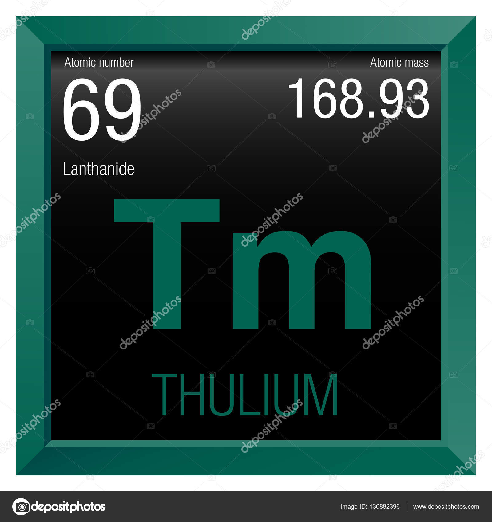 Thulium symbol element number 69 of the periodic table of the thulium symbol element number 69 of the periodic table of the elements chemistry gamestrikefo Gallery
