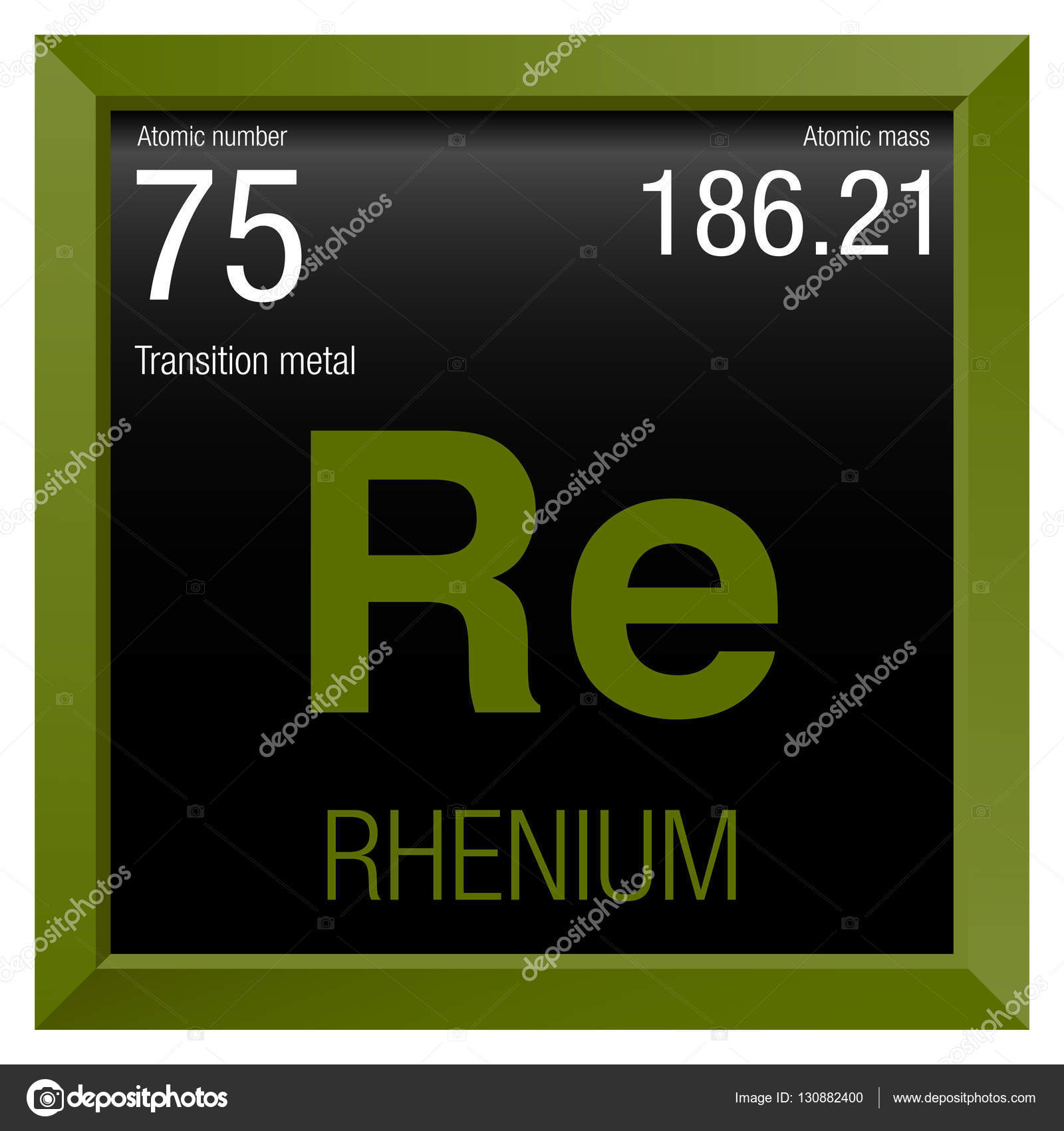 Rhenium symbol element number 75 of the periodic table of the element number 75 of the periodic table of the elements chemistry gamestrikefo Choice Image