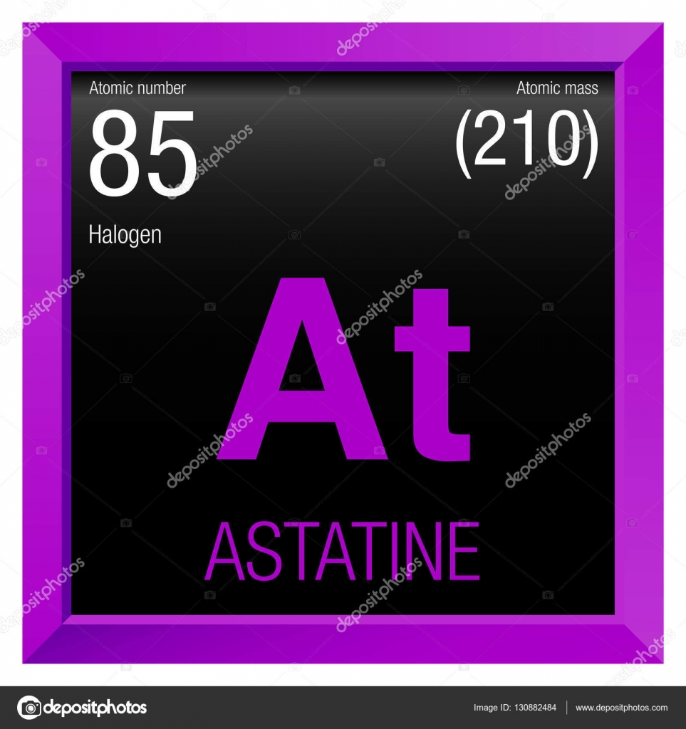 Astatine symbol element number 85 of the periodic table of the astatine symbol element number 85 of the periodic table of the elements chemistry urtaz Gallery