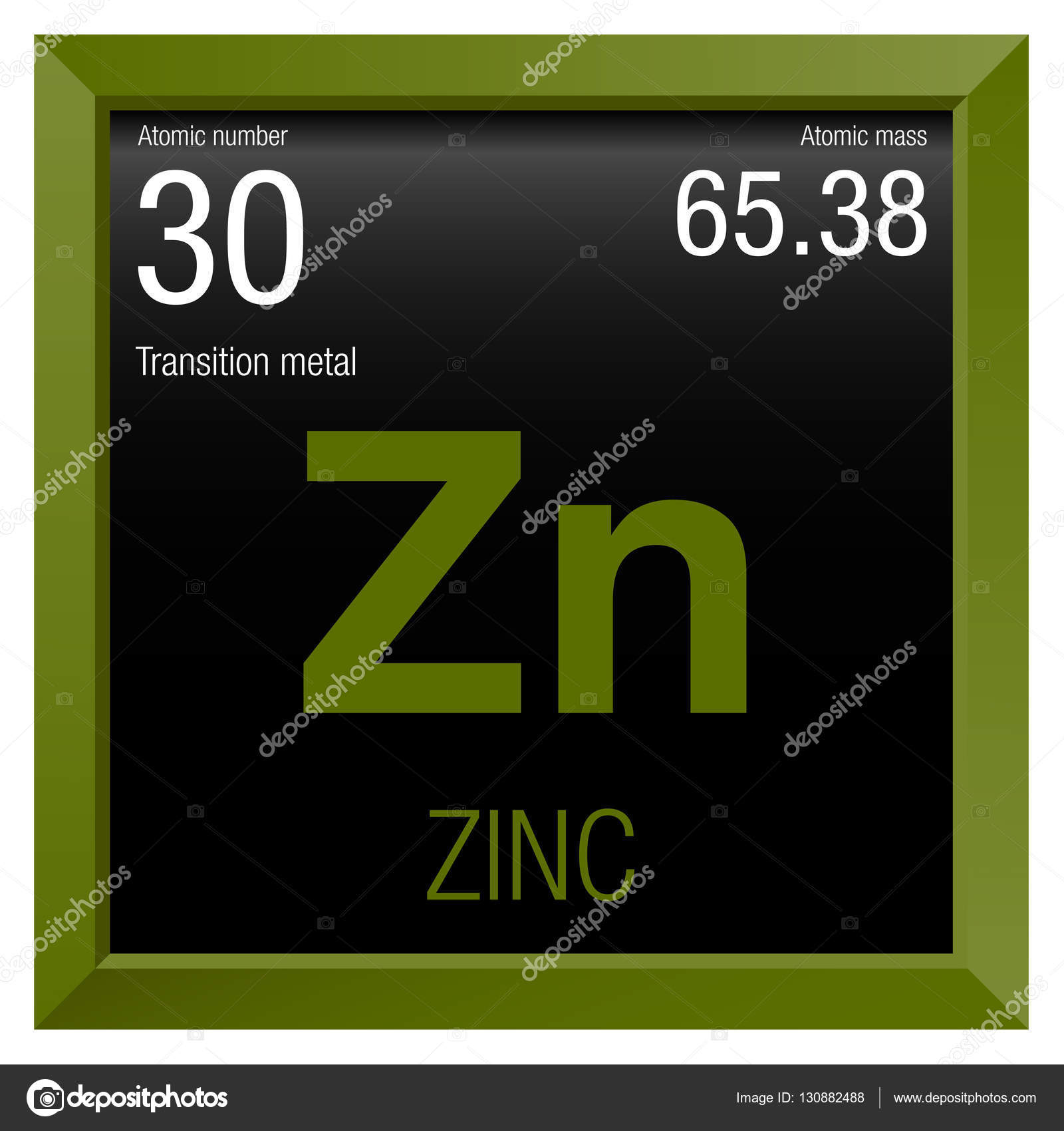 Zinc symbol element number 30 of the periodic table of the zinc symbol element number 30 of the periodic table of the elements chemistry urtaz Image collections