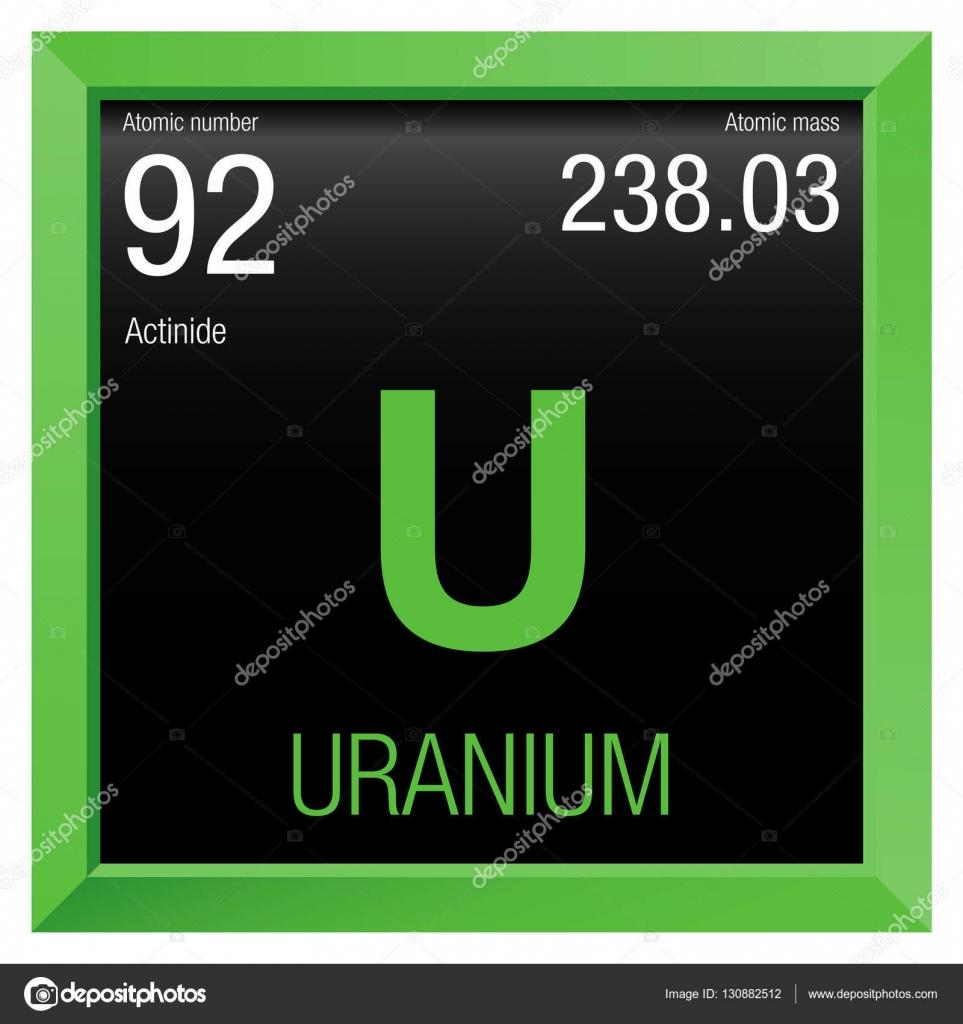 Uranium symbol element number 92 of the periodic table of the uranium symbol element number 92 of the periodic table of the elements chemistry urtaz Image collections