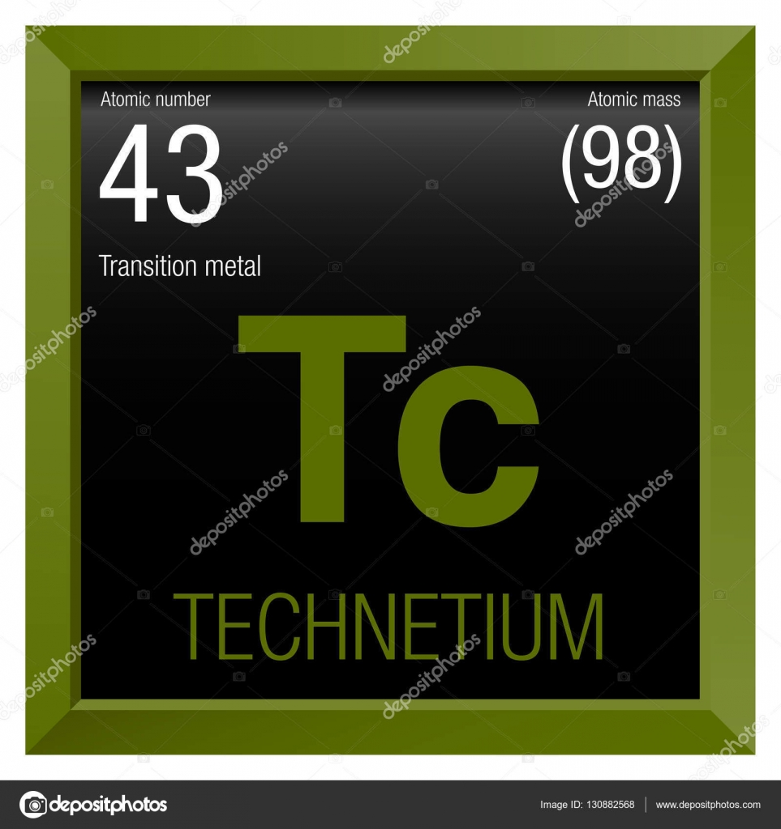 Technetium symbol element number 43 of the periodic table of the technetium symbol element number 43 of the periodic table of the elements chemistry urtaz Choice Image