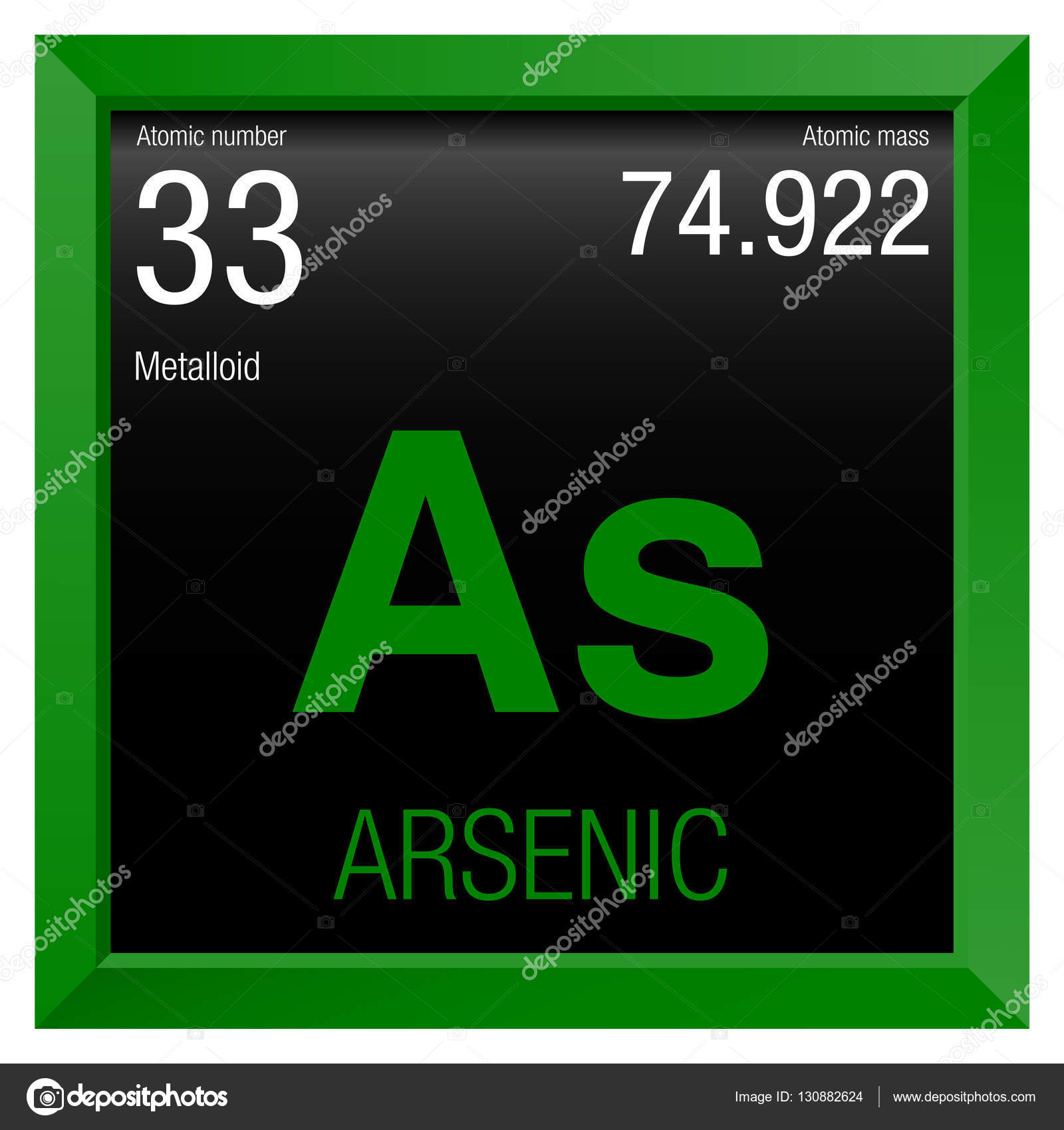 Arsenic symbol element number 33 of the periodic table of the arsenic symbol element number 33 of the periodic table of the elements chemistry biocorpaavc Image collections