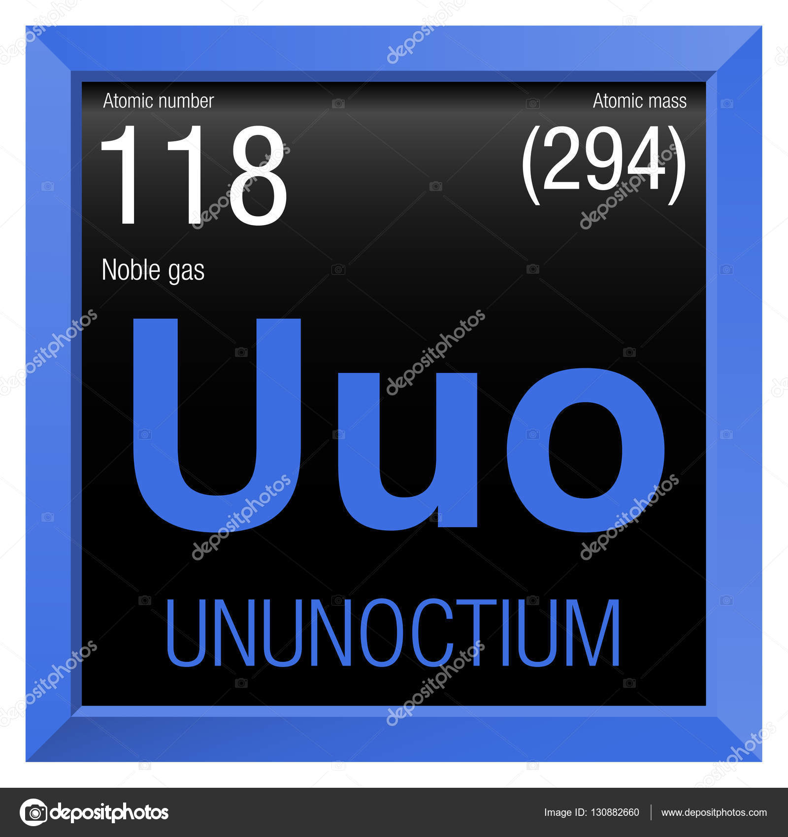 Ununoctium symbol element number 118 of the periodic table of the ununoctium symbol element number 118 of the periodic table of the elements chemistry urtaz Images
