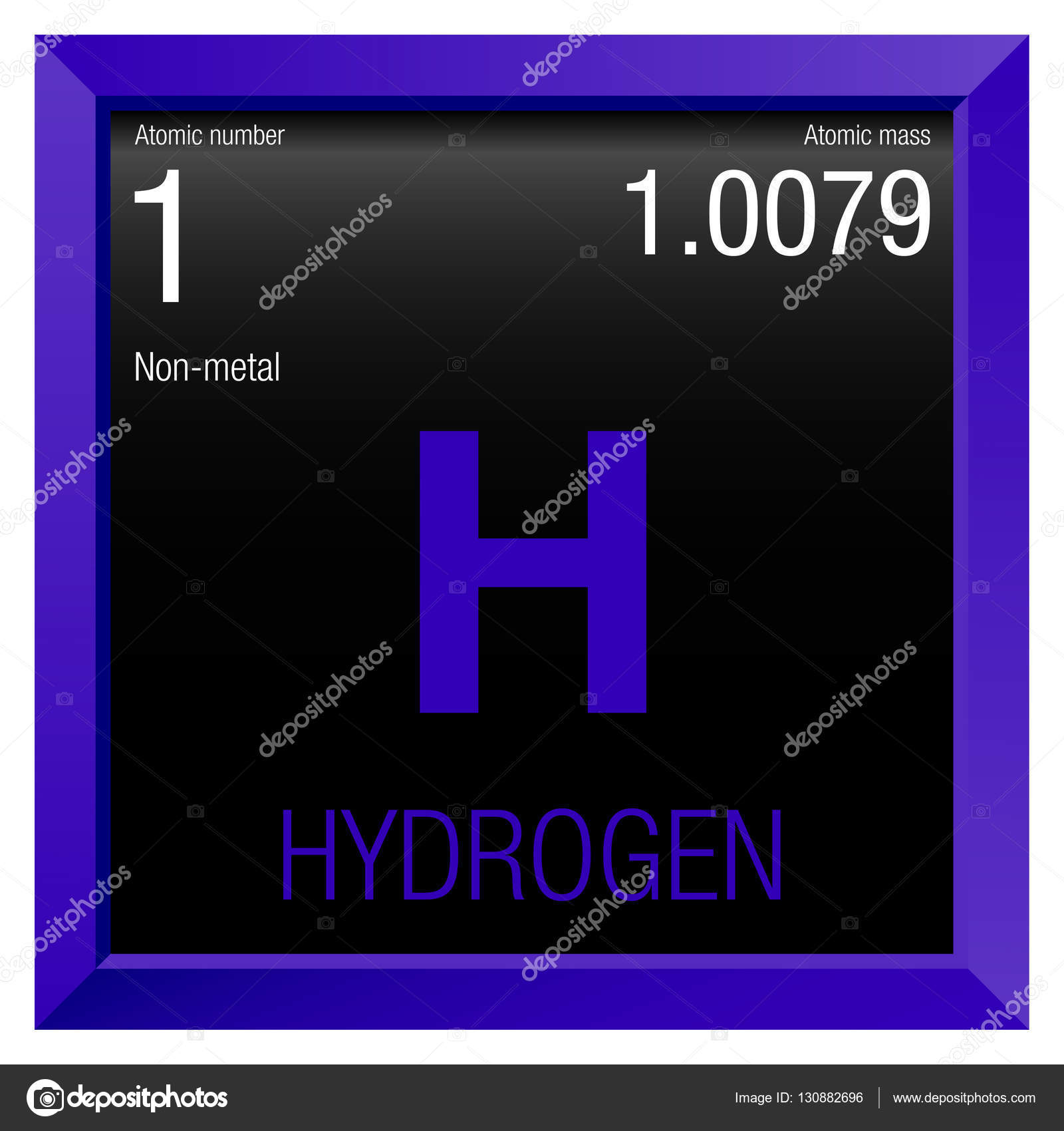 Hydrogen symbol element number 1 of the periodic table of the hydrogen symbol element number 1 of the periodic table of the elements chemistry urtaz Image collections