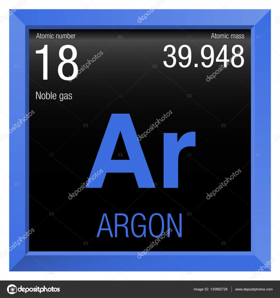 Argon symbol element number 18 of the periodic table of the element number 18 of the periodic table of the elements chemistry urtaz Image collections