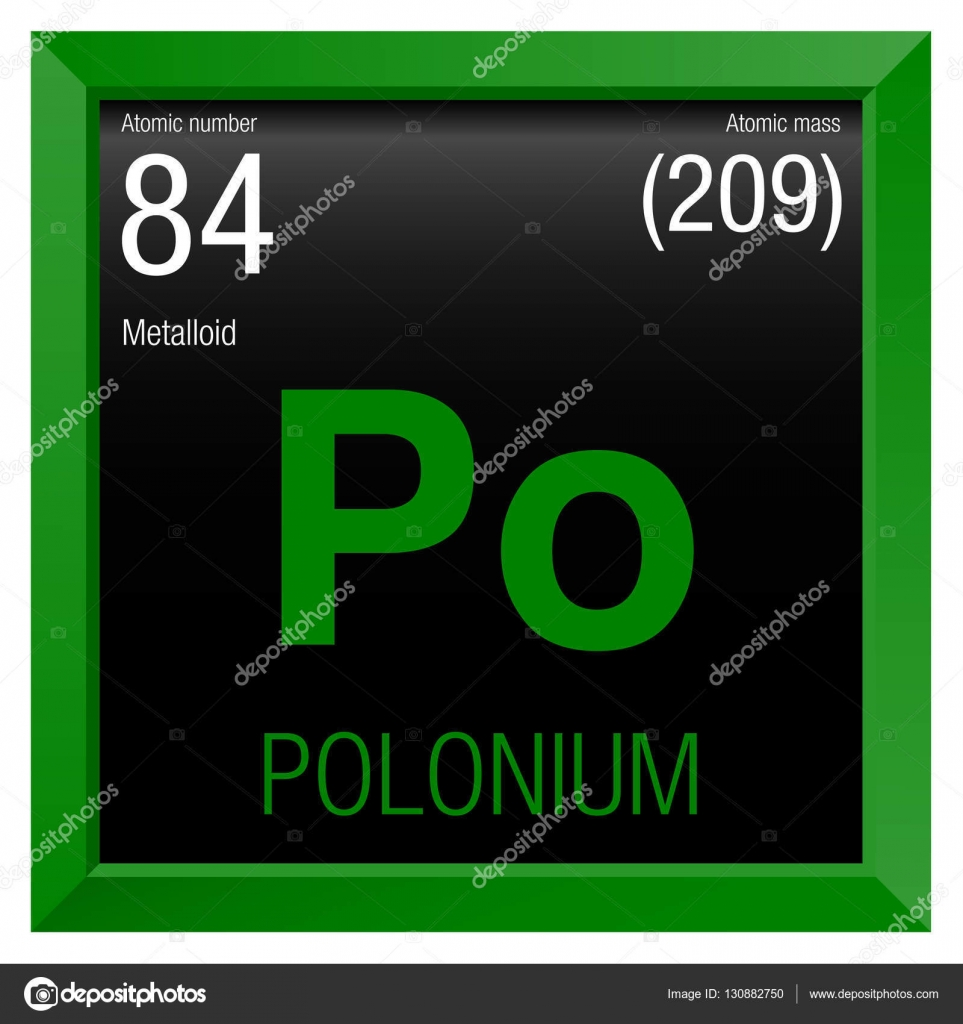 Polonium symbol element number 84 of the periodic table of the element number 84 of the periodic table of the elements chemistry gamestrikefo Choice Image