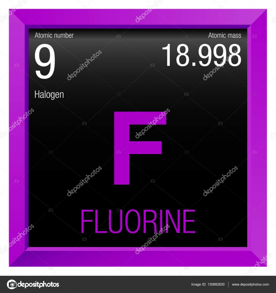 Fluorine symbol element number 9 of the periodic table of the fluorine symbol element number 9 of the periodic table of the elements chemistry urtaz Gallery