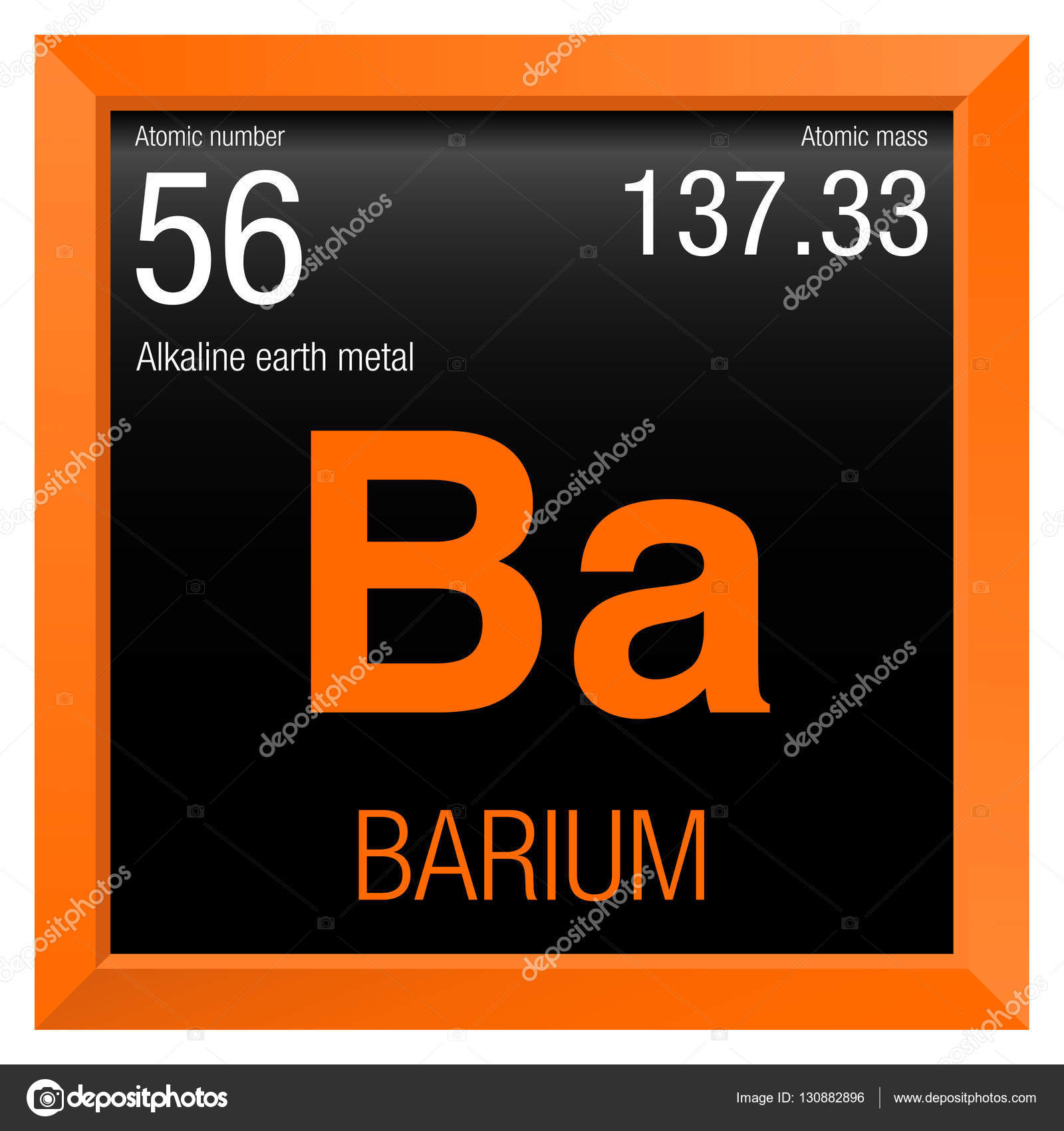 Barium symbol element number 56 of the periodic table of the barium symbol element number 56 of the periodic table of the elements chemistry gamestrikefo Gallery
