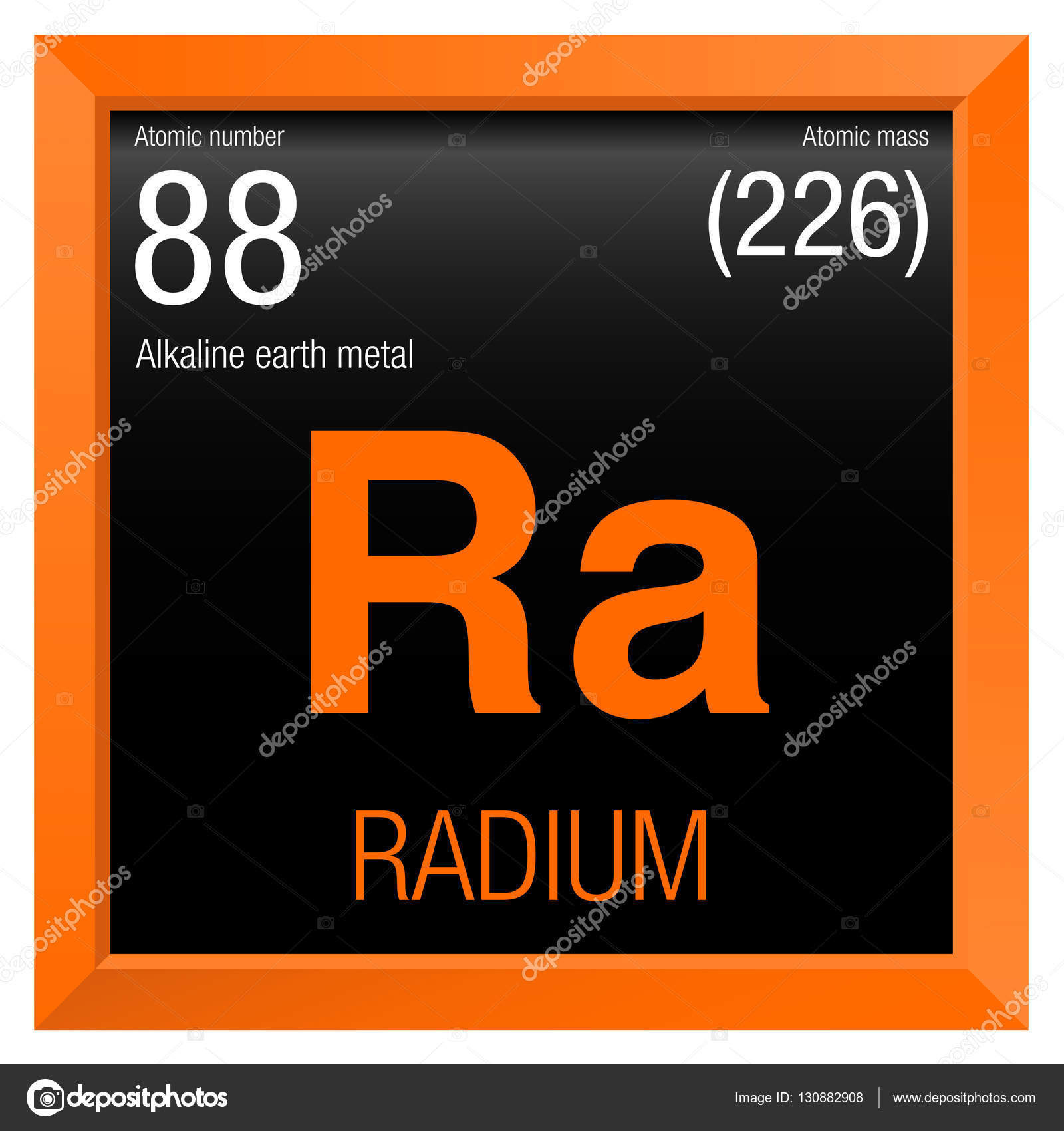 Smbolo de radio elemento nmero 88 de la tabla peridica de los smbolo de radio elemento nmero 88 de la tabla peridica de los elementos qumica urtaz Images
