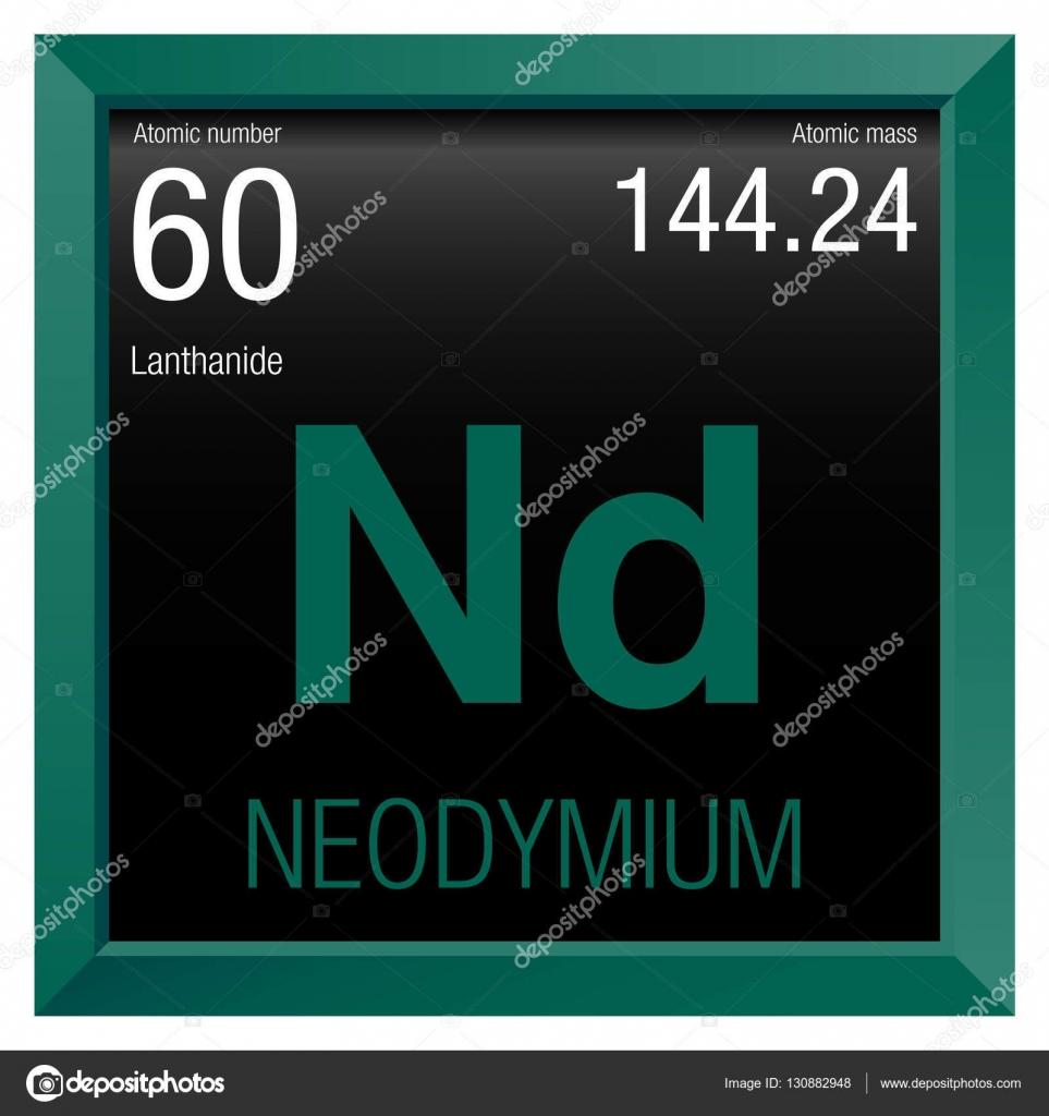Neodymium symbol element number 60 of the periodic table of the neodymium symbol element number 60 of the periodic table of the elements chemistry gamestrikefo Choice Image
