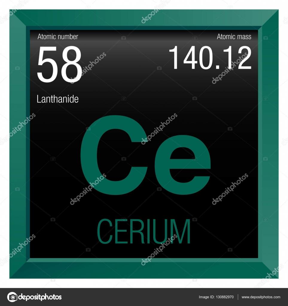 Cerium symbol element number 58 of the periodic table of the cerium symbol element number 58 of the periodic table of the elements chemistry urtaz Images