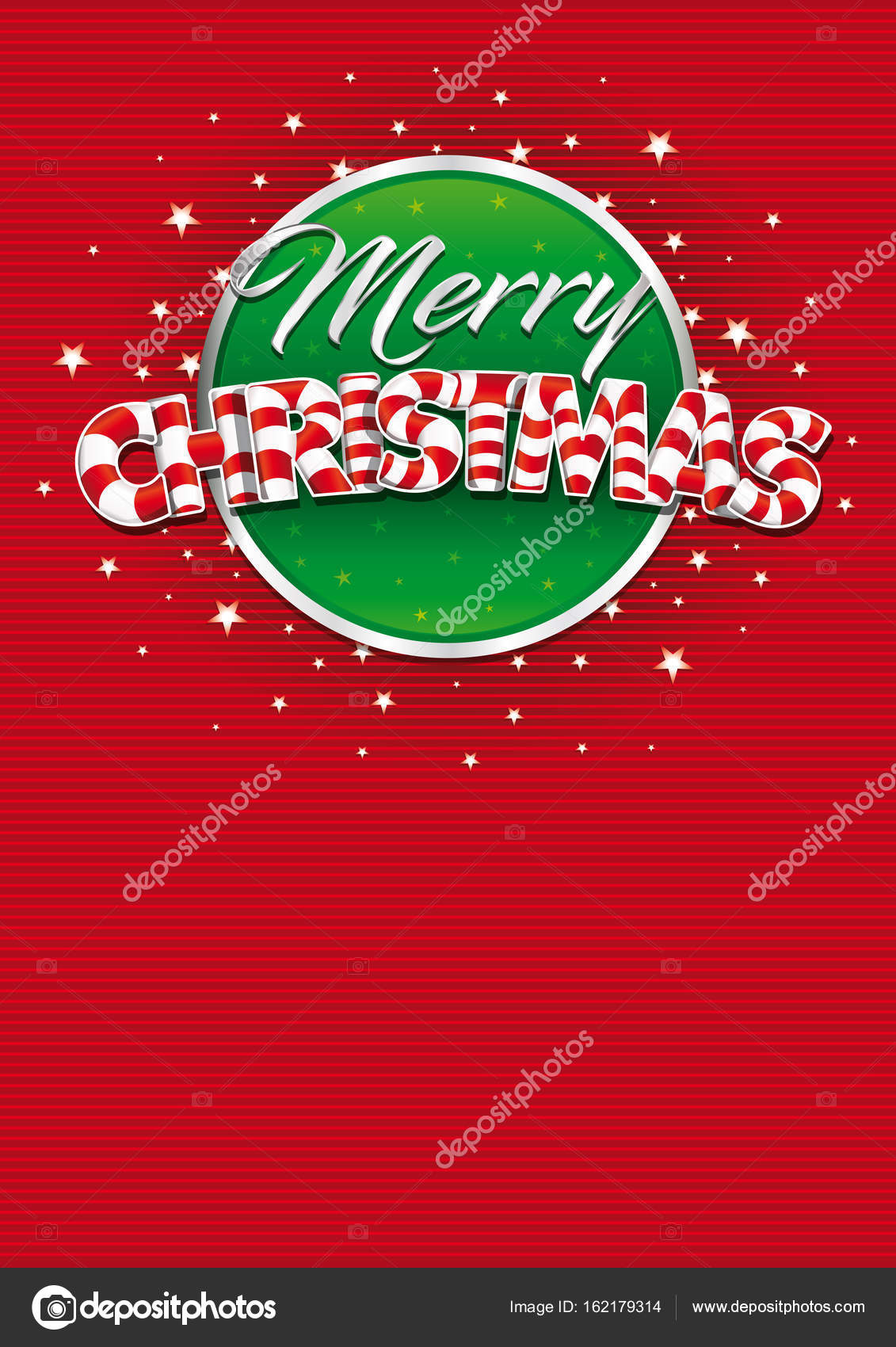 Merry christmas lettering red cover of greeting card with lines merry christmas lettering red cover of greeting card with lines texture in background layout m4hsunfo