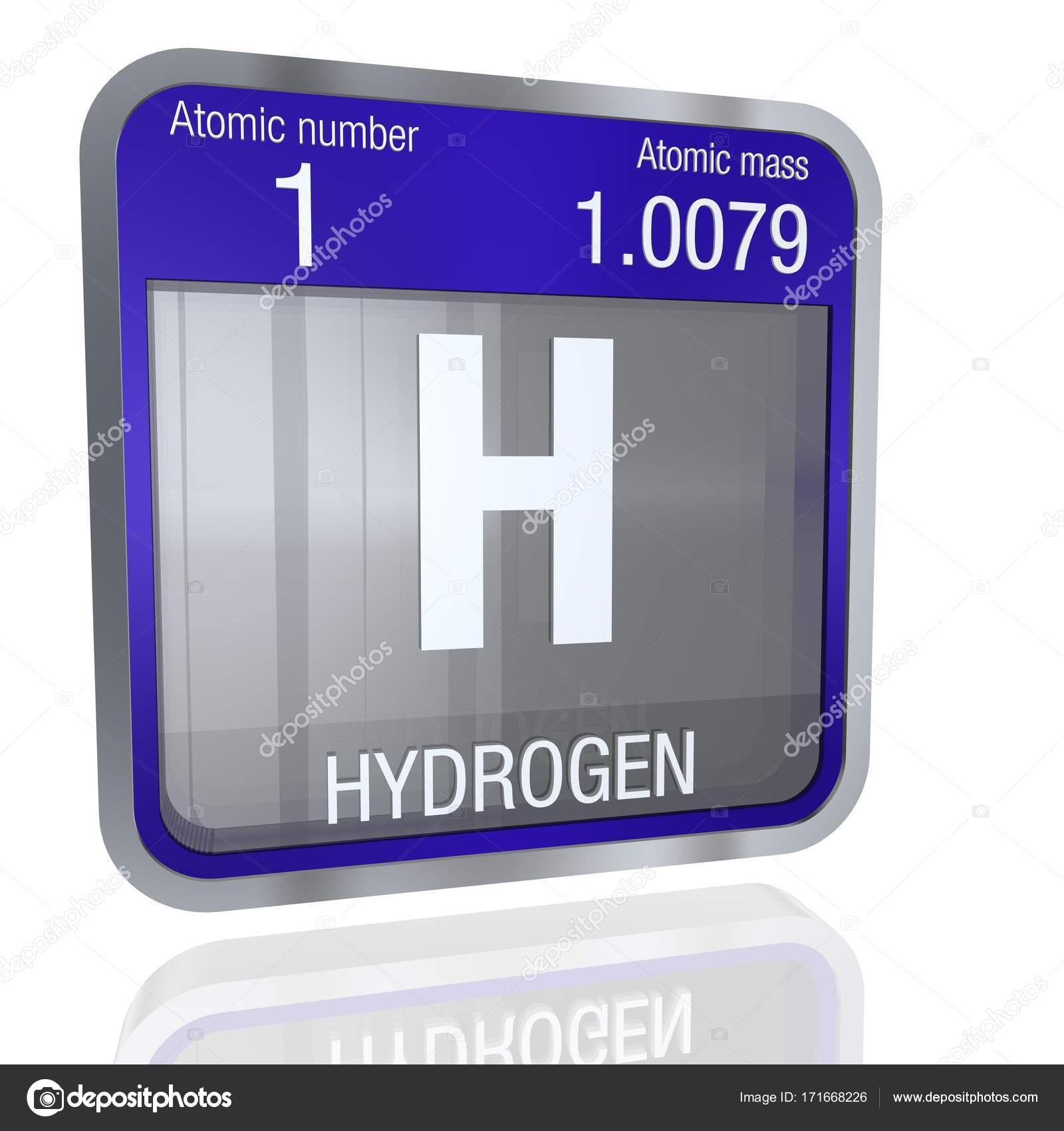 Smbolo del hidrgeno en forma cuadrada con borde metlico y fondo elemento nmero 1 de la tabla peridica de los elementos qumica foto de alejomiranda urtaz Image collections