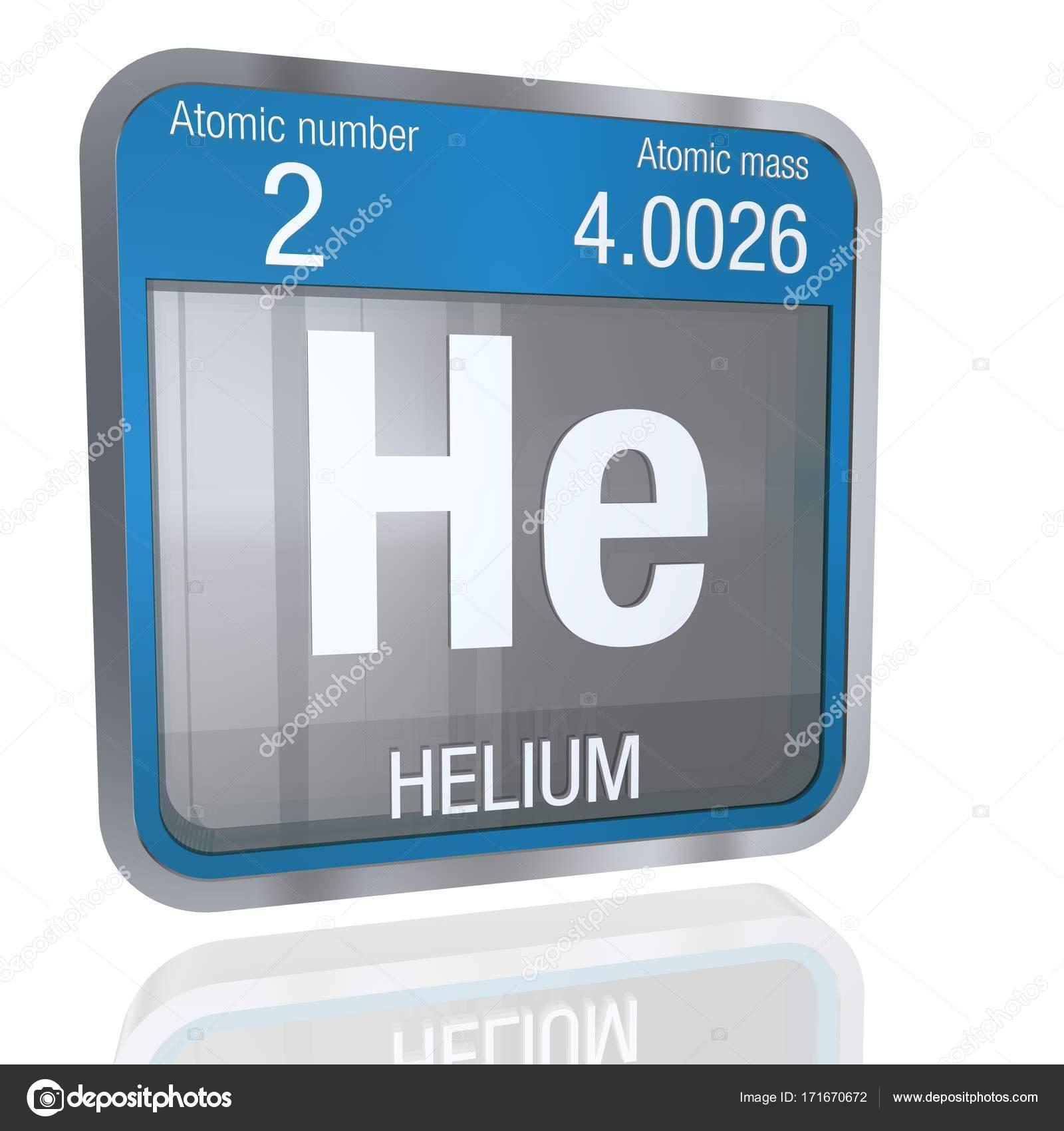 Smbolo de helio en forma cuadrada con borde metlico y fondo smbolo de helio en forma cuadrada con borde metlico y fondo transparente con reflejo en el piso 3d render elemento nmero 2 de la tabla peridica de los urtaz Choice Image