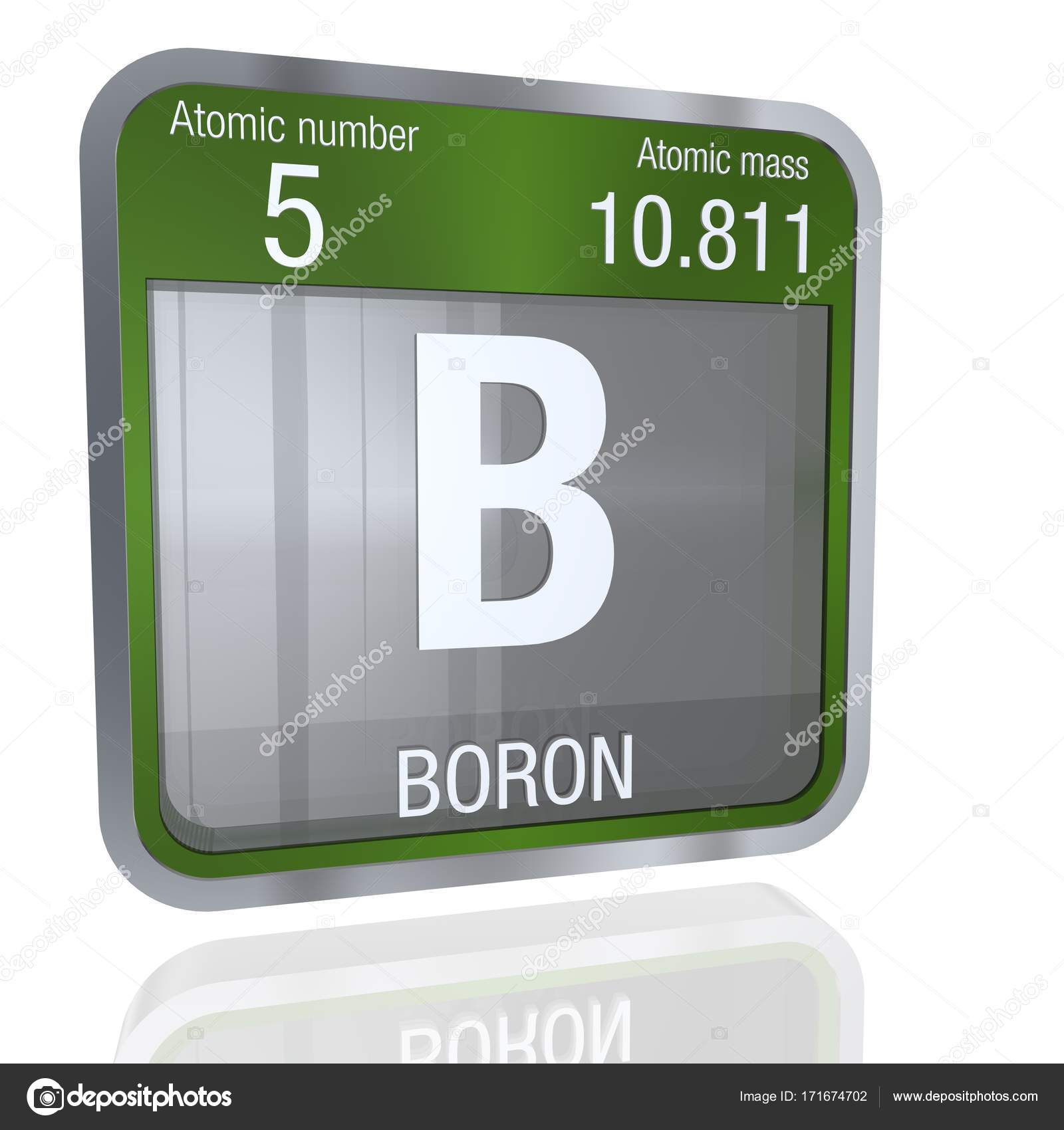 Boron symbol in square shape with metallic border and transparent boron symbol in square shape with metallic border and transparent background with reflection on the floor 3d render element number 5 of the periodic table urtaz Choice Image