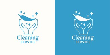 Logo for company cleaning service.