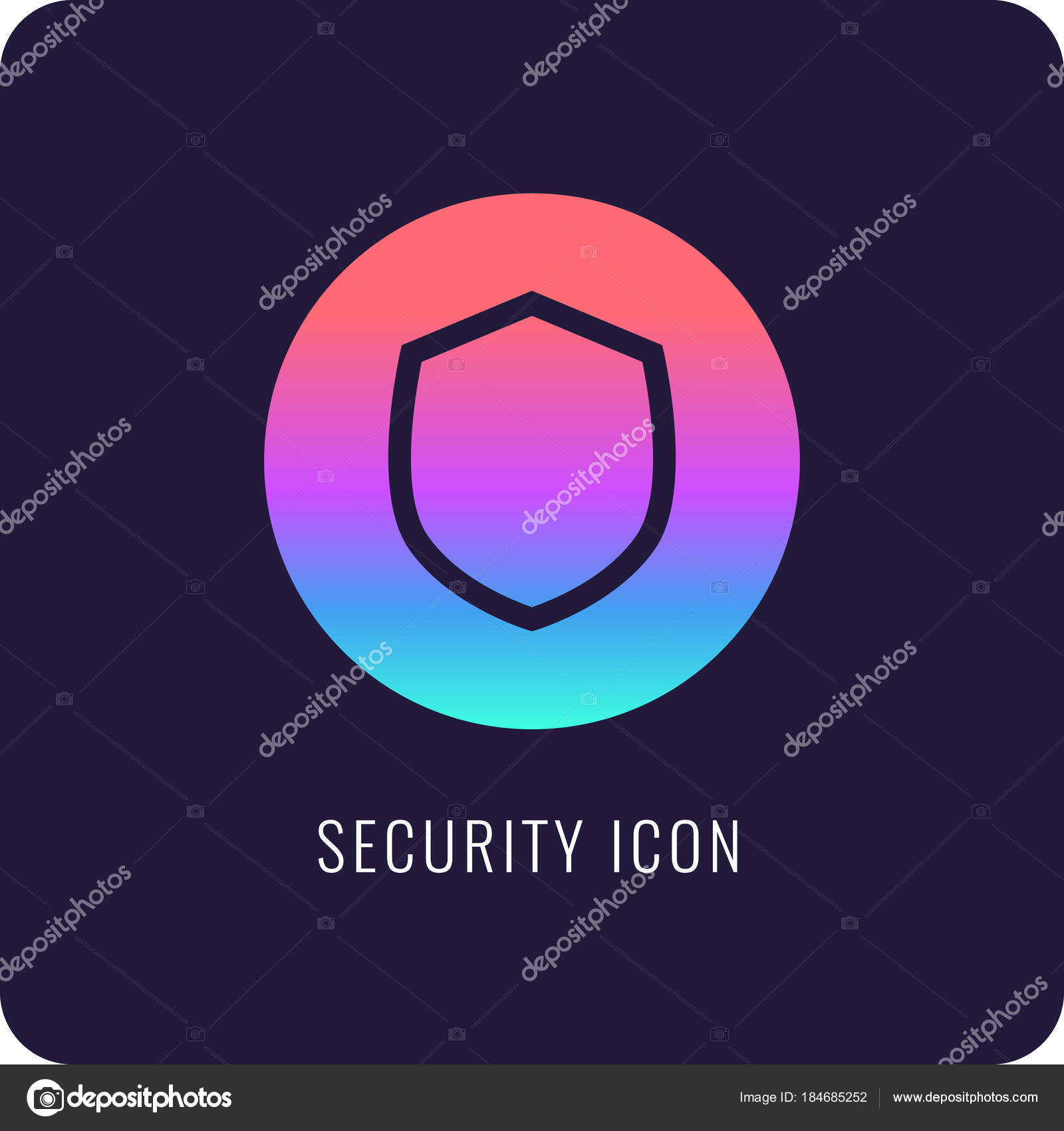 Shield A Symbol Of Protection And Reliability Stock Vector