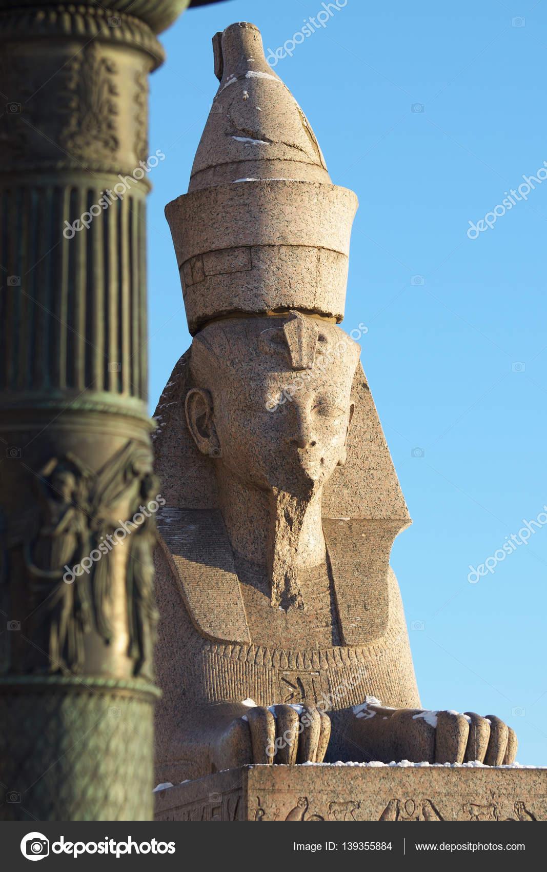 Sphinx in St. Petersburg: overview, description, history, location 34