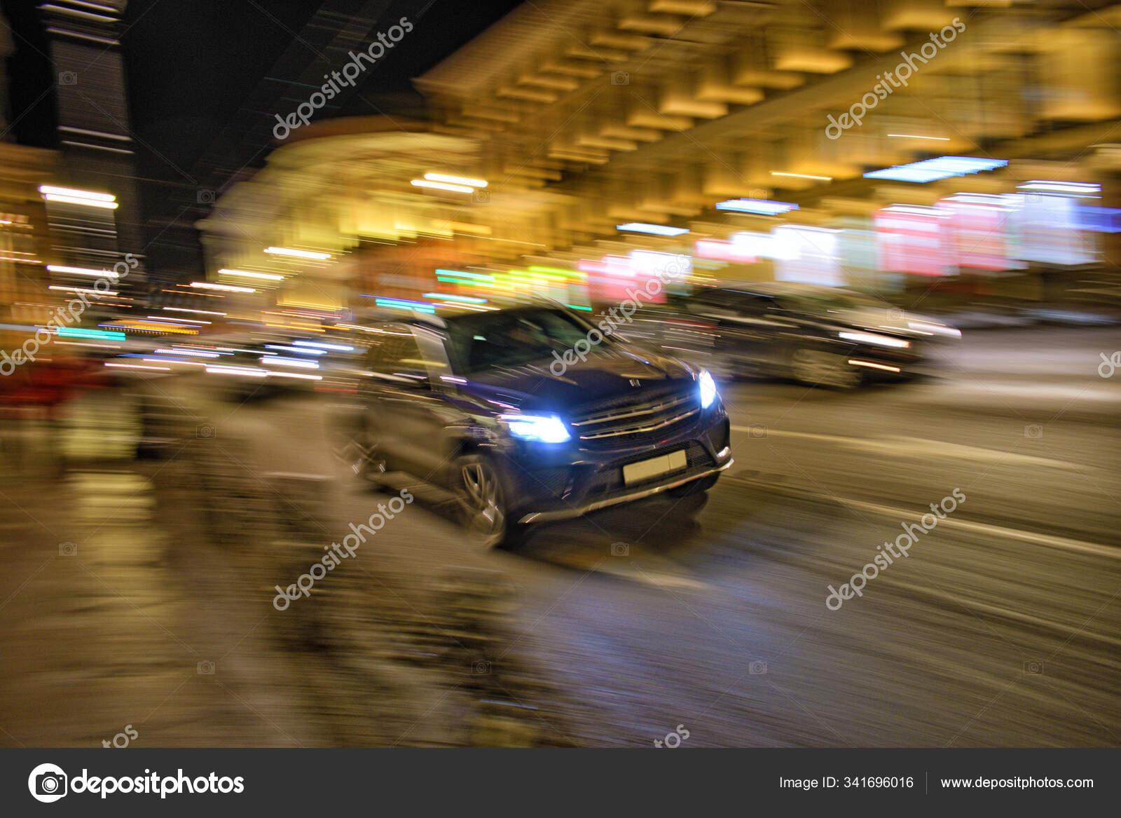 High Speed Car Driving Stock Editorial Photo C Parasunak Yandex Ru 341696016