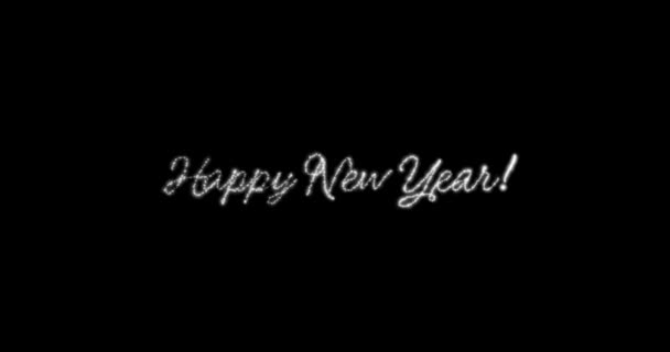 happy new year message in englishgermanfrench multi language with copy or logo type space