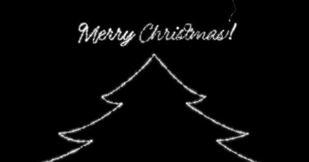 Frohe Weihnachten-Nachricht in Englisch, Deutsch, Französisch ...