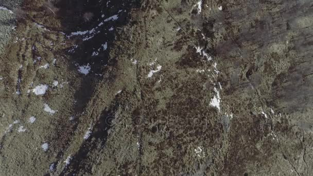 Multiple top view over outdoor location:meadow,mountain, snow, forest,woods  in winter,autumn Overhead aerial establisher edit collection set 4k drone  flight establishing